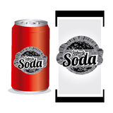 Soda design Stock Images