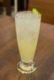 Soda do cal do limão Imagens de Stock Royalty Free
