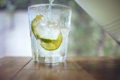 Soda do limão Imagem de Stock Royalty Free