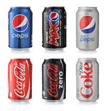 Soda Drinks Stock Photography