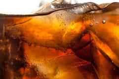 Soda e gelo Fotografia de Stock