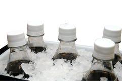 Soda en el hielo Fotos de archivo libres de regalías