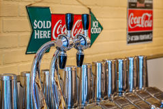Soda Fountain Stock Image
