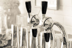 Soda Fountain Nozzles Royalty Free Stock Images