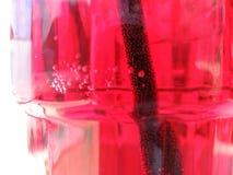Soda in glas stock foto's