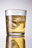 Soda glass Royalty Free Stock Photography