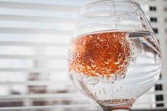Soda in a glass, freshness Royalty Free Stock Photo