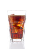 Soda with ice cubes Royalty Free Stock Image
