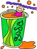 Soda kid Stock Images