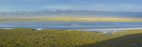 Soda Lake Royalty Free Stock Images