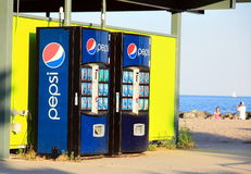Soda Machines Stock Photography
