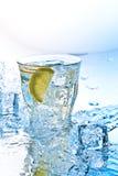 Soda met ijs Stock Foto