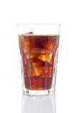 Soda met ijsblokjes Royalty-vrije Stock Afbeelding