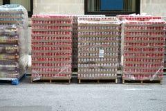 Soda Pallets Stock Photos