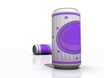 Soda Pop Cans Stock Images