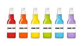 Soda Pop Rainbow Royalty Free Stock Photography