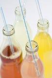 Soda sortierte Aromen und Farben Stockfotografie