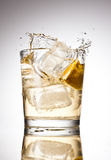 Soda splash Stock Photography