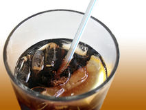 soda szklana Zdjęcie Royalty Free