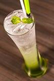Soda verde Immagini Stock Libere da Diritti