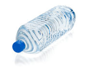 Soda water bottle royalty free stock photography
