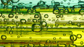 Soda water bubbles Royalty Free Stock Photography