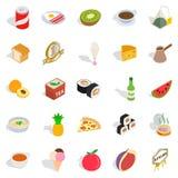 Soda water icons set, isometric style Royalty Free Stock Image