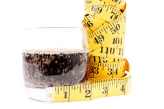 Soda Weight Gain Concept Stock Images