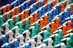 Soda wter sifon stock afbeeldingen