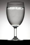 Sodabel in glas Stock Afbeelding