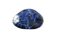Sodalite gem stone Royalty Free Stock Photography