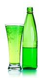 sodavatten för flaskexponeringsglas royaltyfria bilder