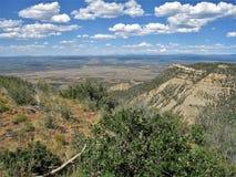 Sodavattenkanjon i Mesa Verde National Park Royaltyfria Foton