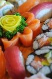 Soddisfaccia il vostro bisogno dei sushi Fotografie Stock