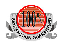 soddisfazione 100% garantita Fotografie Stock