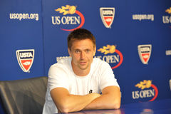 Soderling Robin at US Open 2010 (26) Stock Image