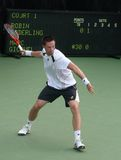 Soderling: Tennis Player Forehand Stock Image