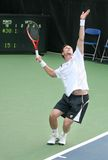 Soderling: Tennis Player Serve Stock Photo