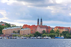 Sodermalm district, Stockholm, Sweden Royalty Free Stock Image