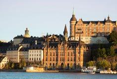 Sodermalm a Stoccolma fotografia stock libera da diritti