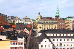 Sodermalm, Stockholm Royalty Free Stock Photo