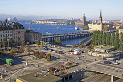 Sodermalms in Stockholm, Sweden Stock Images