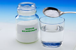 Sodium bicarbonate Stock Photos