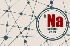 Sodium chemical element.