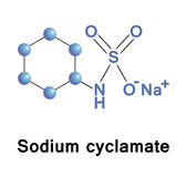 Sodium cyclamate Stock Images