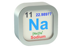 Sodium Royalty Free Stock Photo