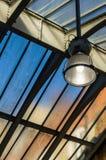 Sodium lamp Royalty Free Stock Image
