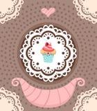 Słodka bułeczka Obraz Royalty Free