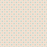 Słodki śliczny bezszwowy wzór Menchie i błękitny podławy Zdjęcia Stock