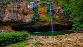 Sodong Waterfalls in its glory during summers royalty free stock photos